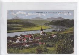 CZERNOSEK M D ELBEDEURCHBRUCH, PORTA BOHEMICA S TEWELES. CIRCULEE  CIRCA 1919. CHECOSLOVAQUIA- BLEUP - Postkaarten