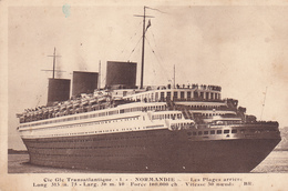 """76. LE HAVRE. PAQUEBOT. LE TRANSATLANTIQUE """" LA SAVOIE """" ANNEE 1939 - Le Havre"""