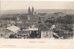 ***  54  ***  LUNEVILLE Vue Générale  - écrite TTB - Luneville