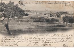 ***  54  ***  LUNEVILLE Vue Générale  Timbre Décollé - - Luneville