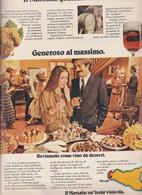 (pagine-pages)PUBBLICITA' IL MARSALA      Gente1979/14. - Libri, Riviste, Fumetti