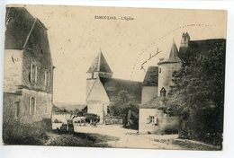 Esmoulins L'église - France
