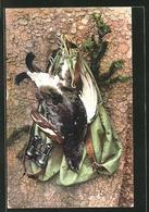 CPA Jagdstillleben, Erlegtes Federwild - Hunting