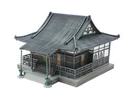 Tomytec Diorama : Japanese Temple  1/150 - Scenery