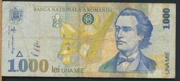 °°° ROMANIA 1000 LEI 1998 °°° - Romania