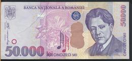 °°° ROMANIA 50000 LEI 2000 °°° - Romania
