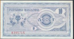 °°° MACEDONIA 10 DENARI 1992 °°° - Macedonia