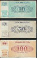 °°° SLOVENIA 1 2 5 10 50 100 TOLARJEV °°° - Macedonia