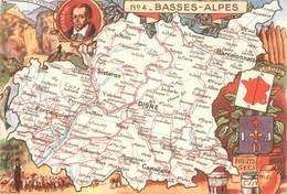 """CPSM FRANCE 04 """"Basses-Alpes"""" - France"""
