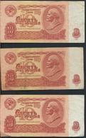 °°° RUSSIA 10 RUBLES 1961 °° - Russia