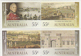 Australia ASC 2760-2763 2010 Governor Macquarie MNH - 2010-... Elizabeth II