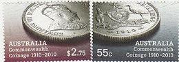 Australia ASC 2766-2767 2010 Centenary Of Coins Set MNH - 2010-... Elizabeth II