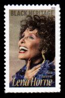 USA, 2018 Scott #5259, Lena Horne, Black Heritage Series, Single,  MNH, VF - Unused Stamps
