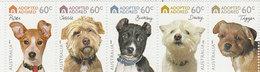 Australia ASC 2808b 2010 Dogs Adopted & Adored Strip MNH - 2010-... Elizabeth II