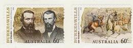 Australia ASC 2824a-2825a 2010 Burke & Willis 150 Years Self-Adhesive MNH - 2010-... Elizabeth II