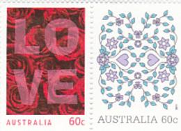 Australia ASC 2856-2857 2011 Love Set MNH - 2010-... Elizabeth II
