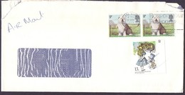 Great Britain Registered Mail Cover Sent To SAUDI- Jeddah City - British Indian Ocean Territory (BIOT)