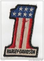 MOTO . HARLEY-DAVIDSON . INSIGNE TISSUS - Ref. N°110TI - - Motos