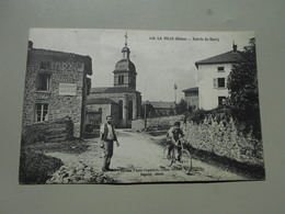 RHONE LA VILLE ENTREE DU BOURG - Other Municipalities