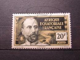 VEND BEAU TIMBRE D ' A.E.F. N° 62 , X !!! - Unused Stamps