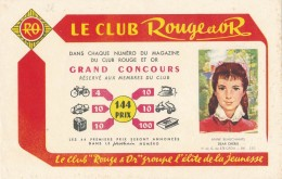 AC - B3361 -Buvard Club Rouge Et Or (détails, état, ...= Scan) - Buvards, Protège-cahiers Illustrés