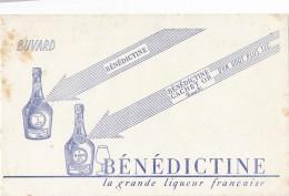 AC - B3361- Buvard  Bénédictine (détails, état, ...= Scan) - Buvards, Protège-cahiers Illustrés