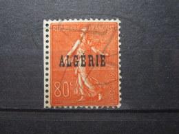 VEND BEAU TIMBRE D ' ALGERIE N° 27 , XX !!! - Algeria (1924-1962)