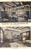Allemagne - Russelsheim - Hotel Russelsheimer Hof - Emil Friedrich - Billardsaal - Speiesaal - Ruesselsheim