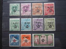 VEND BEAUX TIMBRES D ' ALGERIE N° 58 - 68 , X !!! - Algeria (1924-1962)