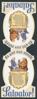 Aufsteller München, Paulaner-Salvator Thomsbräu AG, Mönch Serviert Einen Krug Bier - Vieux Papiers