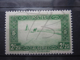 VEND BEAU TIMBRE D ' ALGERIE N° 121 , X !!! - Algeria (1924-1962)
