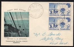 PERTH - WA - AAT / 1957 ENVELOPPE ILLUSTREE (ref LE2409) - Territorio Antartico Australiano (AAT)