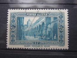 VEND BEAU TIMBRE D ' ALGERIE N° 123 , X !!! - Algeria (1924-1962)