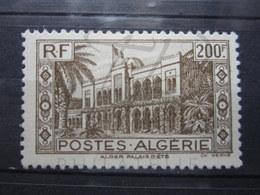 VEND BEAU TIMBRE D ' ALGERIE N° 204 , X !!! - Algérie (1924-1962)