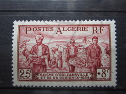 VEND BEAU TIMBRE D ' ALGERIE N° 323 , X !!! - Algeria (1924-1962)