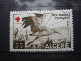 VEND BEAU TIMBRE D ' ALGERIE N° 344 , X !!! - Algeria (1924-1962)