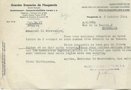 GRANDES BRASSERIES DE HOUGAERDE - 1900 – 1949