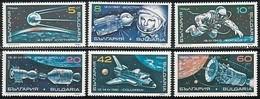 Cosmos - Bulgaria / Bulgarie 1990 -  Set MNH** - Spazio