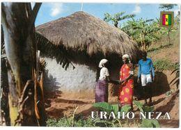 CP RWANDA - URAHO NEZA - Salutation Traditionnelle - Ed. JOC , KIGALI - Foto. J. Casas - Rwanda