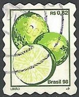 LSJP BRAZIL LEMON FRUIT 1mm 1998 - Brésil