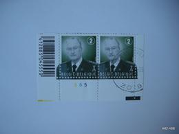 BELGIUM 2007. King Albert II - Belgium 2. SG 4114. Block Of 2, Cancelled And MNH - Neufs