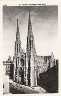Cp , ÉTATS-UNIS , NEW YORK CITY , St. Patrick Cathedral - Églises