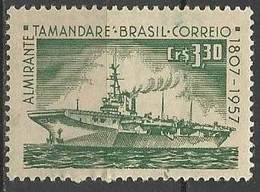 LSJP BRAZIL 150 YEARS OF ALMIRANTE TAMANDARE SHIP AIRCRAFT PORT 1957 - Brazil