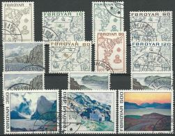 FÄRÖER 1975 Mi-Nr. 7/20 O Used - Färöer Inseln