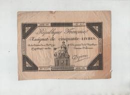 Assignat 50 Livres Depierre 827 - Vieux Papiers
