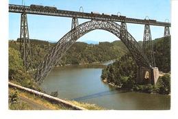 Viaduc Ferroviaire De Garabit (Ruynes-en-Margeride-Saint-Flour-Cantal)-Ingénieur Boyer-plans De G.Eiffel-Train-Wagons - Saint Flour