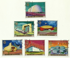 1970 - Ajman 111 Expo Di Osaka   C4721, - 1970 – Osaka (Giappone)