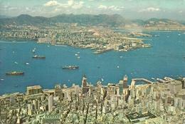 Hong Kong & Kowloon From The Peak - Cina (Hong Kong)