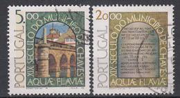 PORTUGAL - Michel - 1978 - Nr 1405/06 - Gest/Obl/Us - 1910-... République