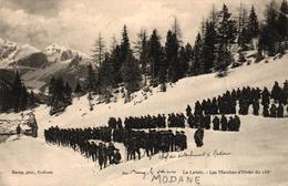 MODANE -73- LE LAVOIR LES MARCHES D'HIVER DU 158E - Modane